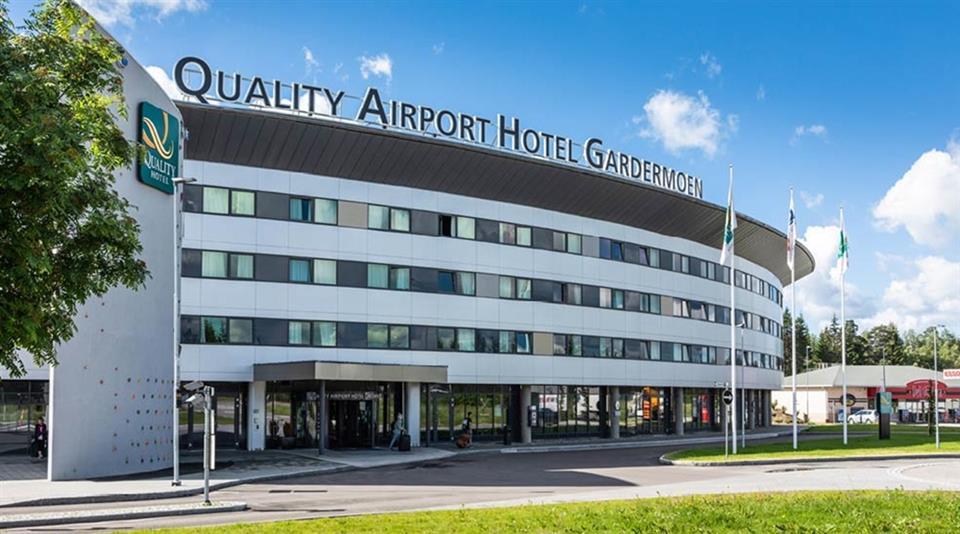 Quality Airport Hotel Gardermoen Fasad