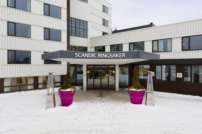 Scandic Ringsaker Entré