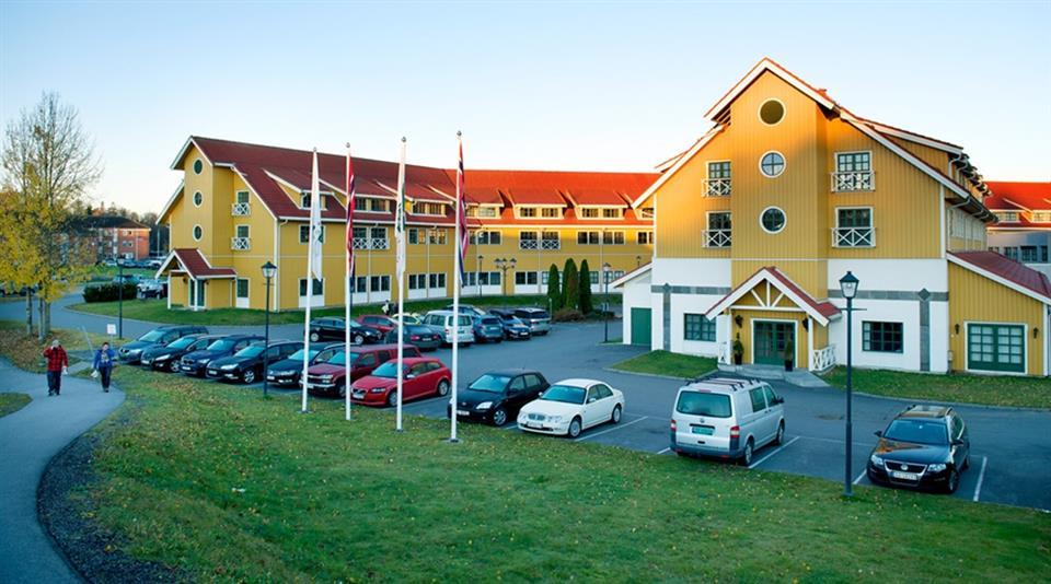 Quality Hotel Sarpsborg Fasad