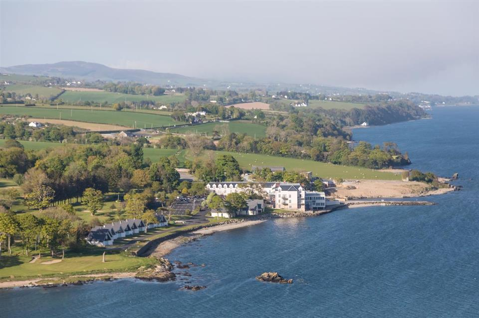 Redcastle Hotel Ariel View