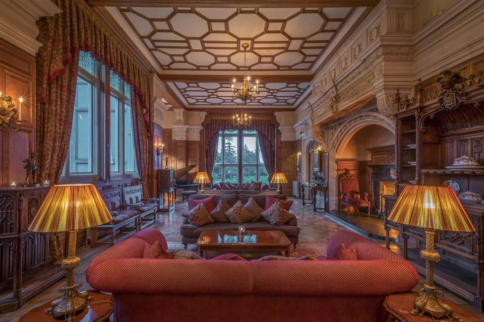 Lough Rynn Castle Drawing Room