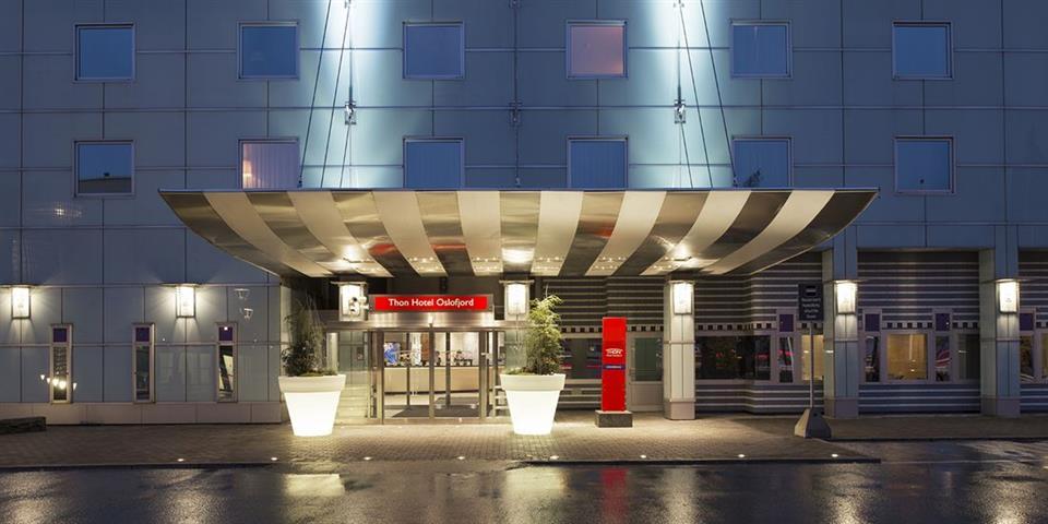 Thon Hotel Oslofjord Fasad
