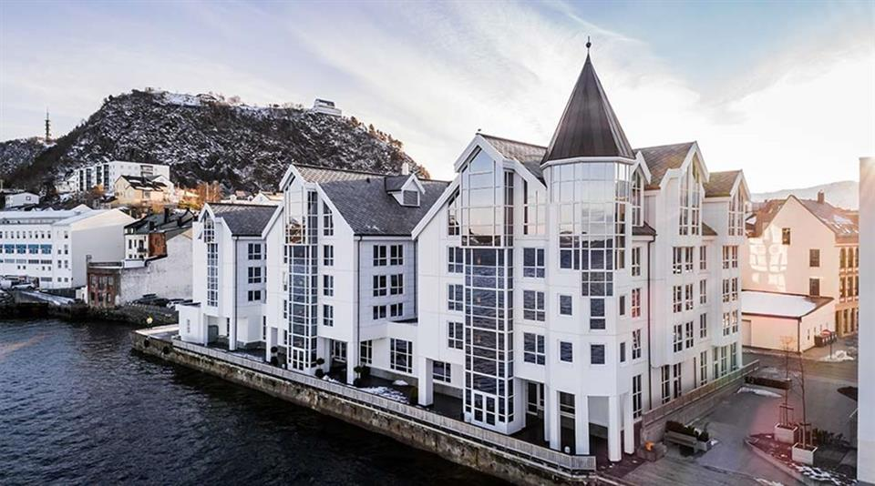 Quality Hotel Ålesund Fasad