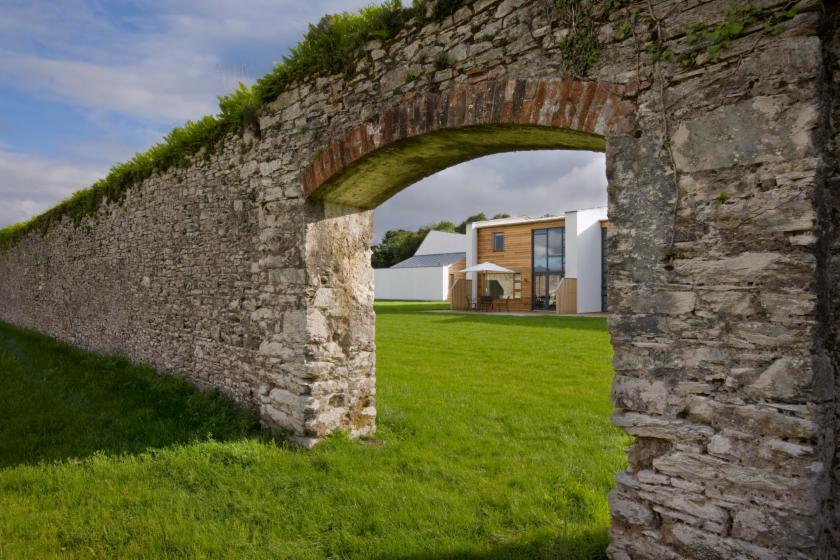 Walled Garden Lodges outdoor