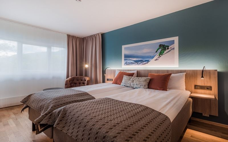 Nordfjord Hotell Twin Room