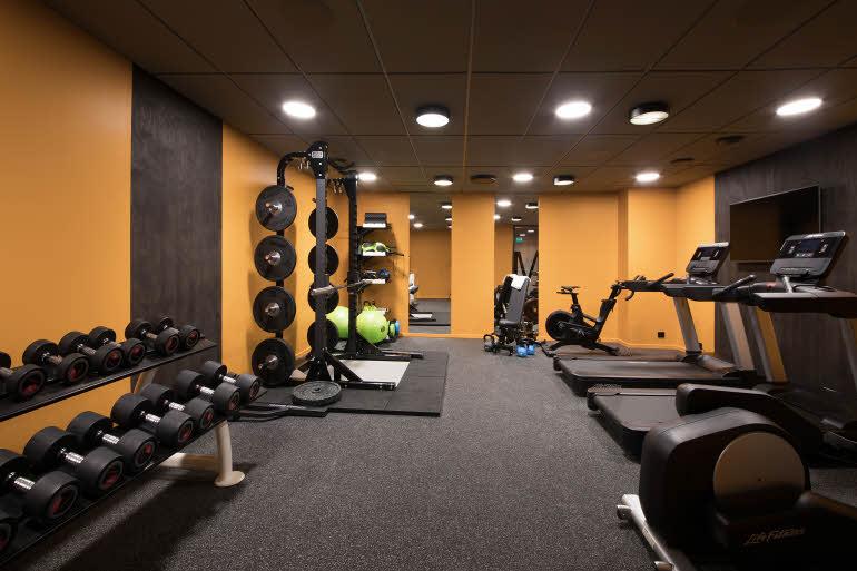 Scandic Victoria Oslo Gym