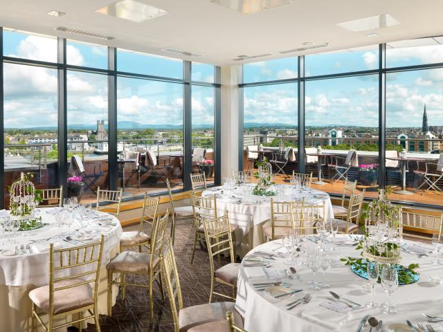 Limerick Strand Hotel Private Dining City View Suite