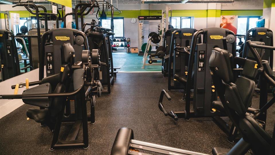 Raheen Woods Hotel gym