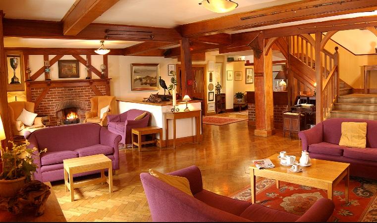 Renvyle Hotel lounge