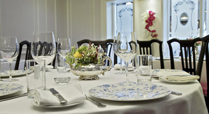 Fitzgeralds Woodlands House Hotel dining
