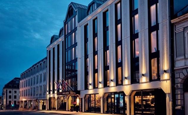 Thon Hotel Norge Fasad