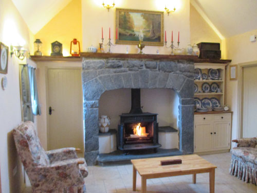 Berties Cottage Living room