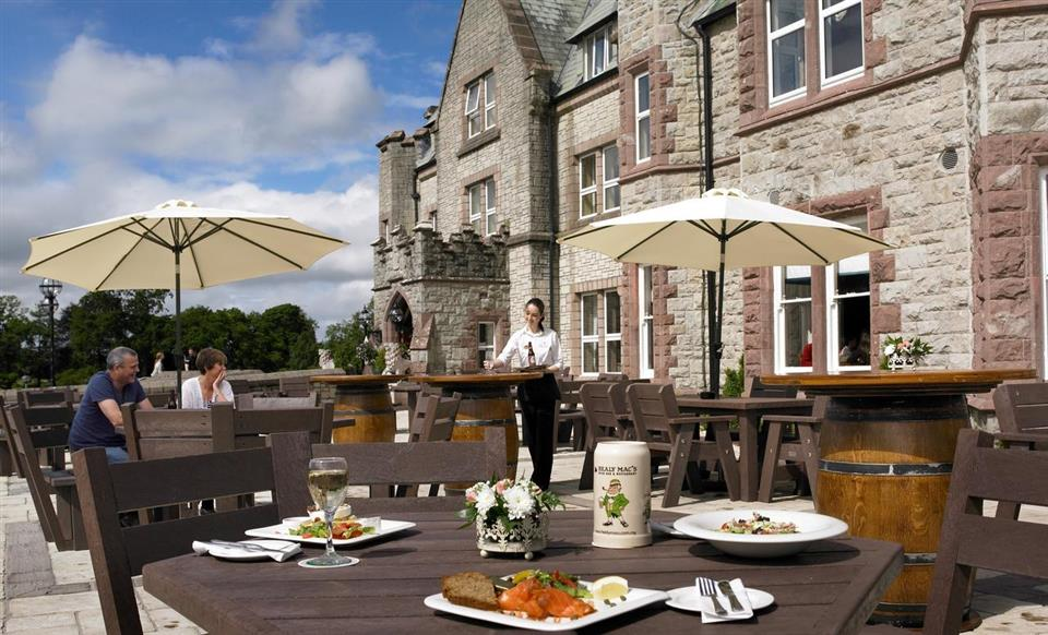Breaffy House Hotel Terrace Dining