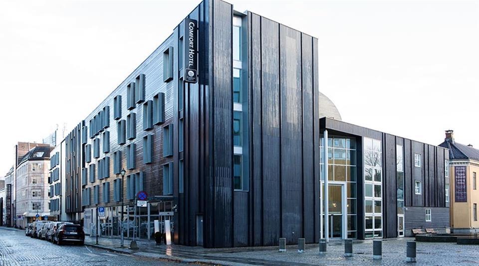 Comfort Hotel Trondheim Fasad