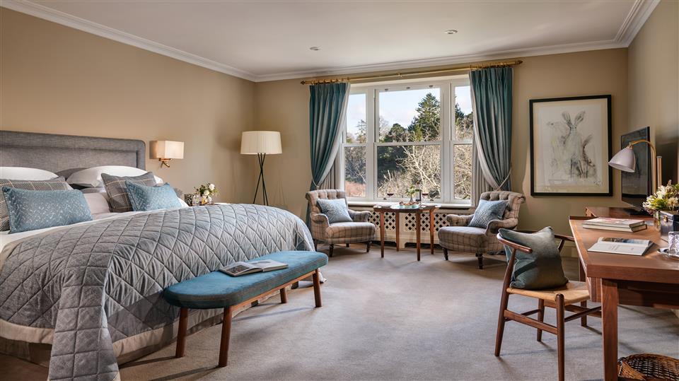 sheen falls lodge Superior Deluxe bedroom