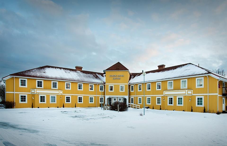 Scandic Leknes Lofoten Hotell Fasad