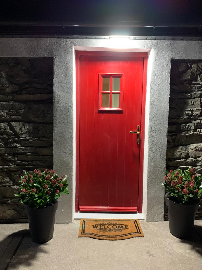 Cloghboola Cottage Doorway