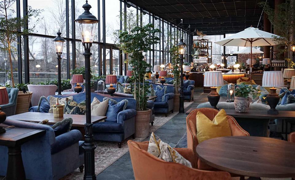 The Steam Hotel Frukostrestaurang