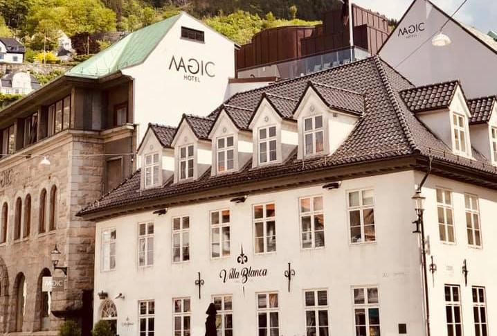 Magic Hotel Korskirken Fasad