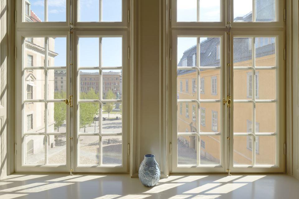 Hotel Kungsträdgården - The King's Garden Fönster med utsikt över Kungsträdgården