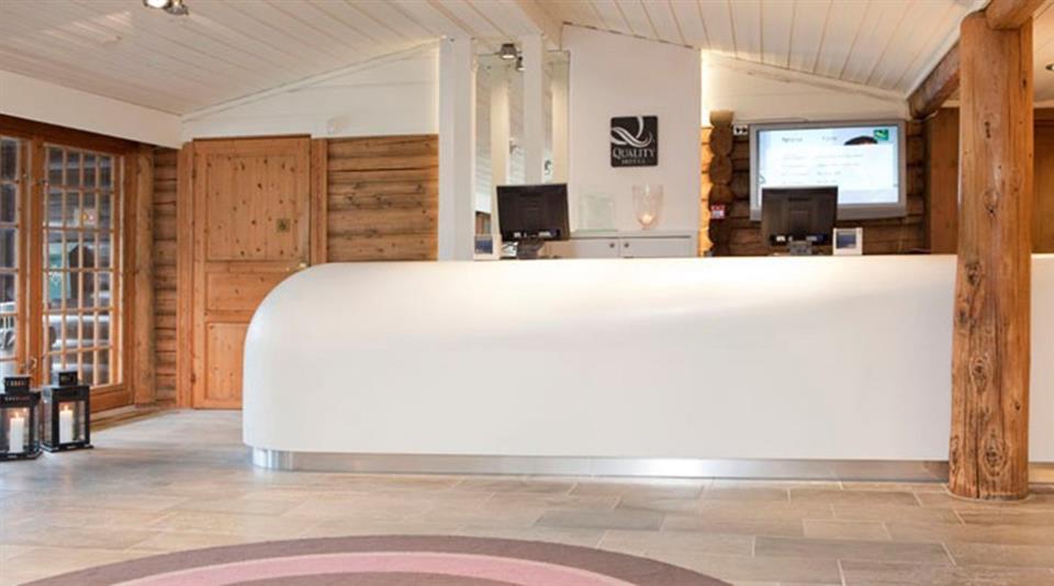 Quality Hotel Leangkollen Reception