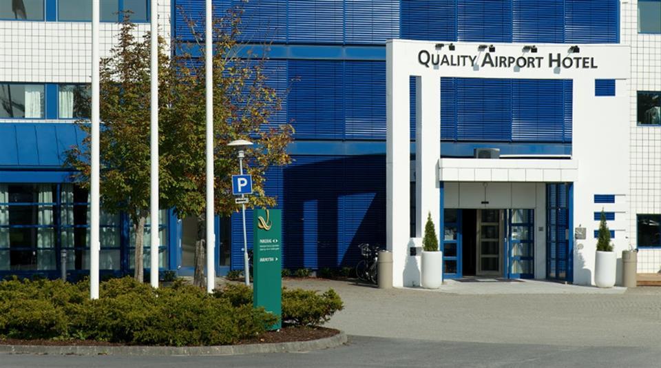 Quality Airport Hotel Stavanger Fasad